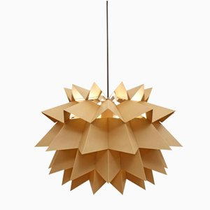 Star Light Pendant Lamp by Anton Fogh Holm & Alfred J Andersen for Nordsik Solar, 1960s