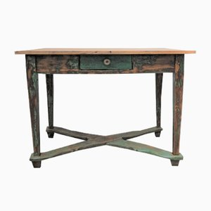 Vintage Wooden Country House Table