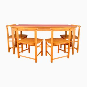 Child's Activity Table Set and Chairs, 1960s