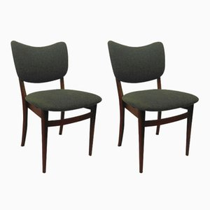 Danish Dining Chairs, 1940s, Set of 2