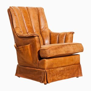 French Lounge Chair, 1940s