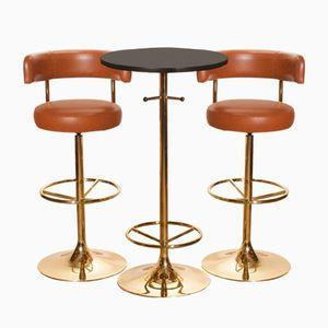 Barstools & Bar Table by Börje Johanson for Johanson Design