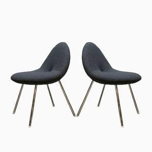 Little Conco Dining Chairs by Michiel van der Kley for Artifort, 2006, Set of 4