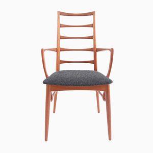 Mid-Century Danish Armchair in Teak and Wool by Ib Kofod-larsen for Hornslet Møbelfabrik