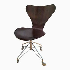 Mid-Century Danish Office Chair by Arne Jacobsen, 1970s