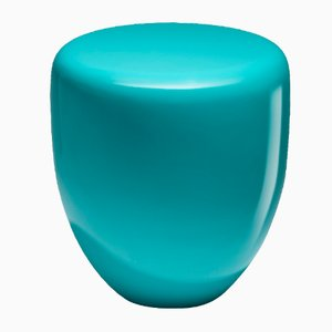 Dot Side Table or Stool in Bohemian Blue by Reda Amalou