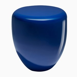 Dot Side Table or Stool in Persian Blue by Reda Amalou