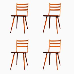 Vintage Boomerang Dinning Chairs, Set of 4