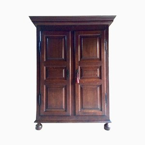 19th Century French Oak Wardrobe