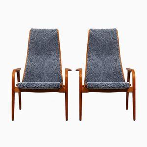 Lamino Armlehnstühle von Yngve Ekströmo für Swedese, 1950er, 2er Set