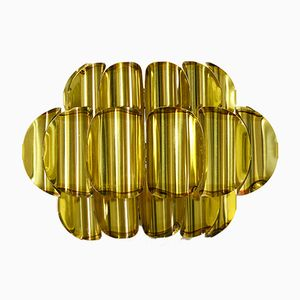 Brass Wall Sconce by Werner Schou for Coronell Electro, 1960s