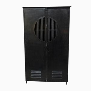 Industrial Cabinet with 2 Doors, 1930s