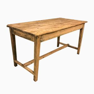 Vintage French Pine Farmhouse Table