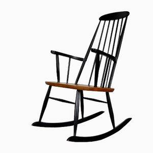 Mid-Century Rocking Chair by Ilmari Tapiovaara, 1960s