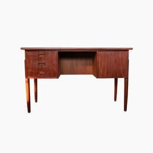 Furniture Design Online vintage desk in teak 1960s Vintage Desk In Teak 1960s