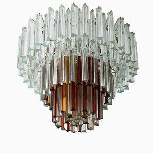 Murano Glass Ceiling Light by Paolo Venini, 1960s