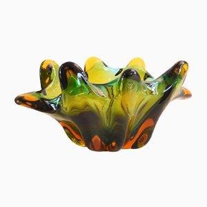 Italian Murano Glass Bowl, 1950s