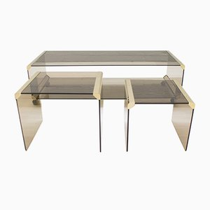 Italian Coffee Tables by Pierangelo Galotti for Galotti & Radice, 1980s
