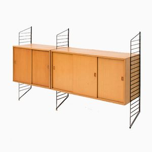 Swedish Wall Unit by Nisse Strinning for String