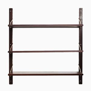 Vintage Rosewood Shelving Unit by Poul Cadovius