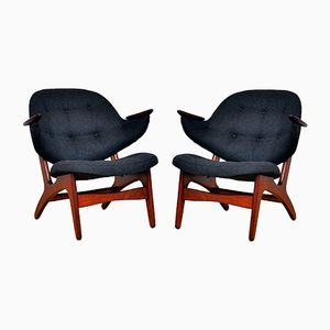 33 Armchair by Carl Edward Matthes, 1950s, Set of 2