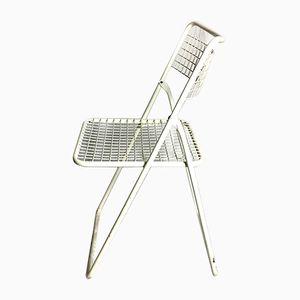 Swedish Folding Chairs by Niels Gammelgaard, 1980s, Set of 4