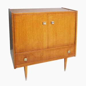 Vintage French Small Sideboard, 1970s