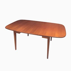 Swedish Teak Folding Dining Table, 1960s