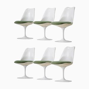 Tulip Chairs by Eero Saarinen for Knoll Inc, 1950s, Set of 6