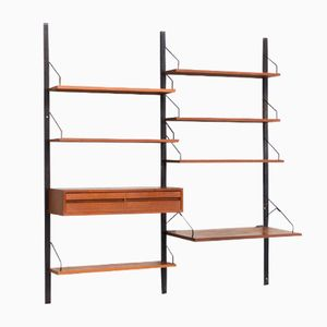 Danish Royal System Wall Unit by Poul Cadovius for Cado, 1960s