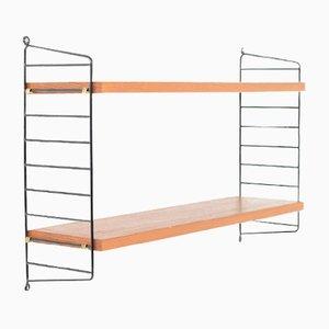 Teak Wall Shelves by Kajsa & Nils Strinning for String, 1960s