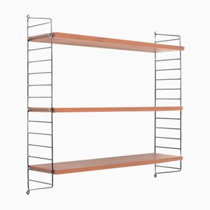 Teak Wall Shelves by Nisse Strinning for String