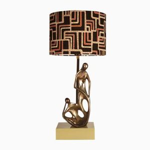 Mid-Century Italian Modern Sculptural Table Lamp