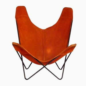 Vintage Hardoy Chair or Butterfly Chair by Jorge Hardoy-Ferrari for Knoll International