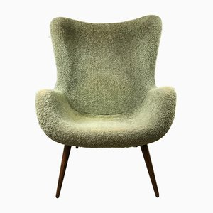 Mid-Century Wingback Easy Chair