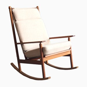 Model 532A Rocking Chair from Hans Olsen for Juul Kristensen, 1960s