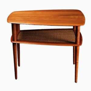 Danish Teak Side Table by Peter Hvidt for France & Sons, 1950s