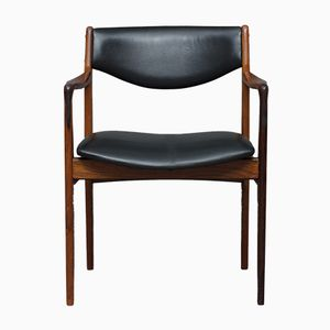Mid-Century Rosewood Armchair by Godfred H. Petersen