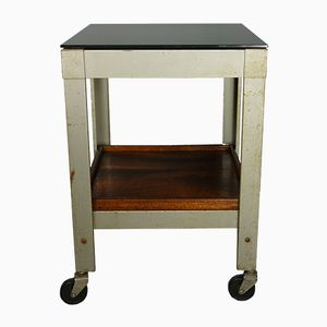 Vintage Industrial Style Side Table