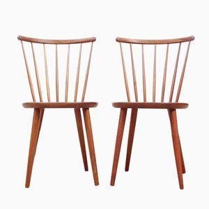 Vintage Scandinavian Chairs in Teak, Set of 2