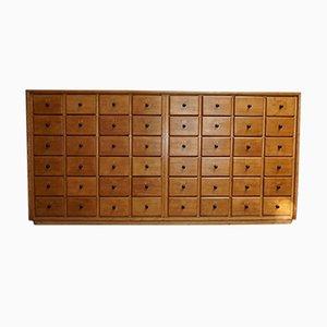Dutch Beech Apothecary Cabinet, 1950s