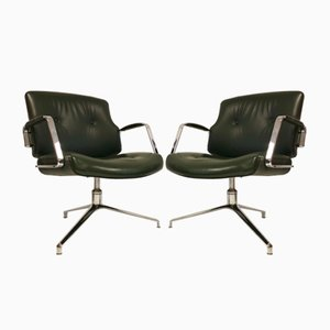 FK-84 Chairs by Kastholm & Fabricius for Kill International, 1960s, Set of 2