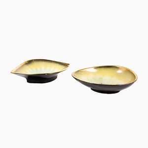 Ceramic Bowls, 1950s, Set of 2