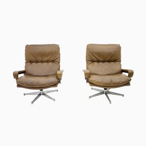King Lounge Chairs by André Vandenbeuck for Strässle Switzerland, 1965, Set of 2