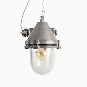 Industrial 51114 Pendant Light from Elektrosvit, 1950s