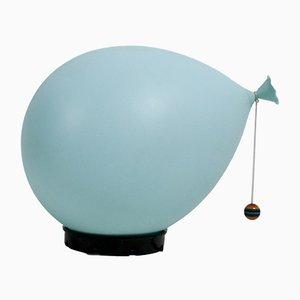 Blue Balloon lamp by Yves Christin for Bilumen, 1970s