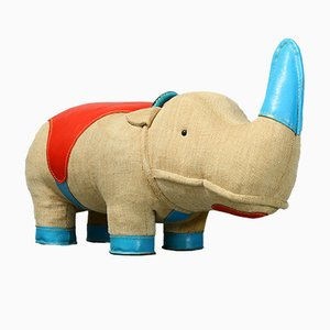 Nossy Rhino Therapeutic Toy by Renate Müller for H. Josef Leven KG, 1970s