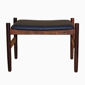 Vintage Rosewood Footstool from Spottrup Mobler