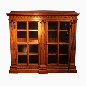 Large 19th Century French Oak Bookcase