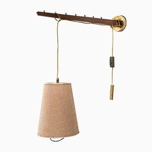 Adjustable Wall Lamp by J. T. Kalmar, 1950s